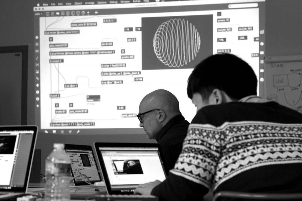 Workshop Max MSP visuals reacting to audio