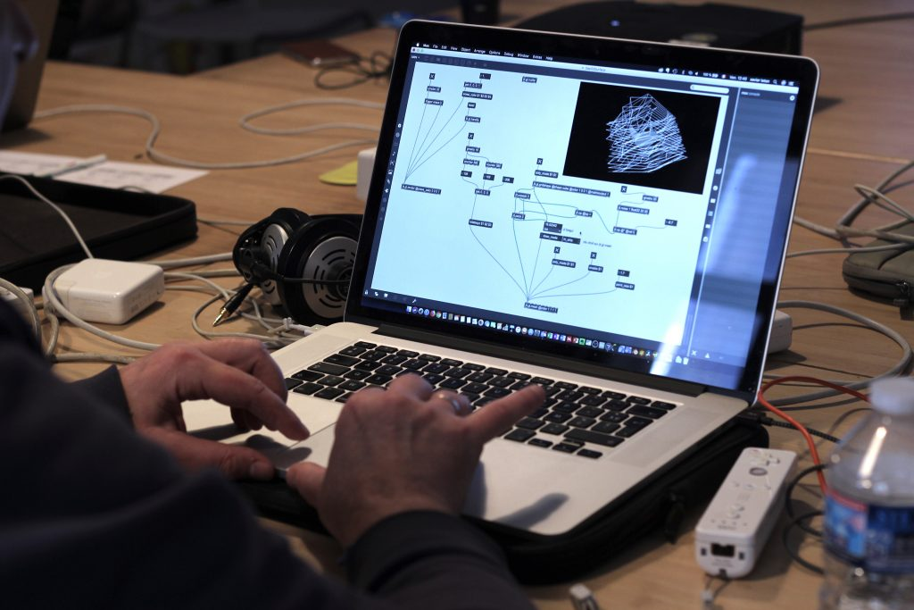 Max MSP Workshop, 2018, France