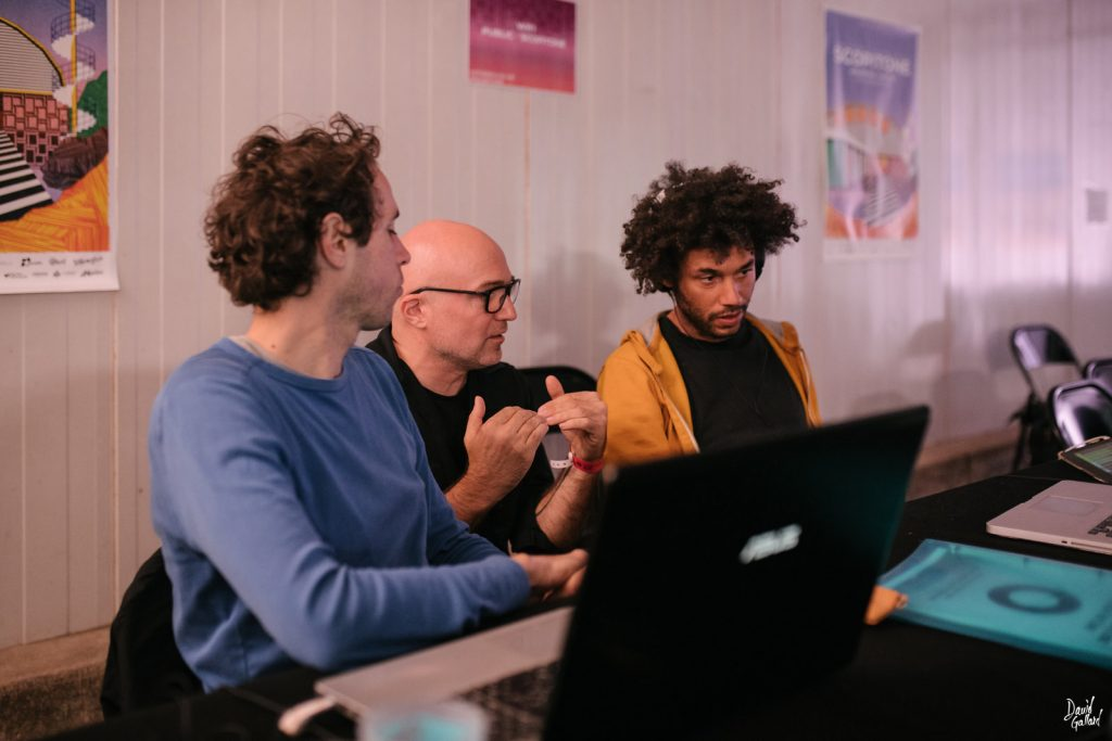 From Gesture To Sound Workshop, 2019, Scopitone, Nantes, France